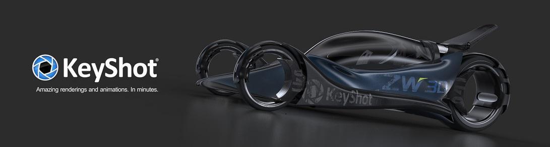 Keyshot rendu 3D