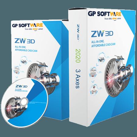 ZW3D 2020 3 Axes