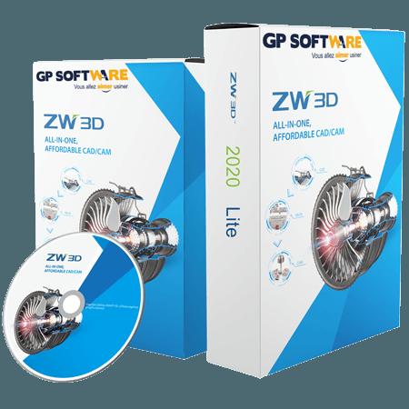 Logiciel CAO ZW3D 2020 Lite