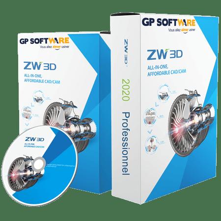 Logiciel CAO ZW3D 2020 Pro