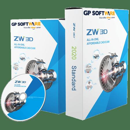 Logiciel CAO ZW3D 2020 Standard