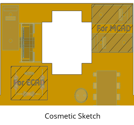 Esquisse cosmetique ZW3D 2021
